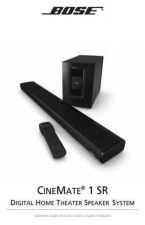 Buy Bose AM342773 00 CineMate 1 SR Oper ENGvo tcm6 52118 by download #333257