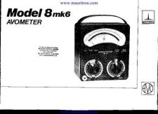 Buy AVO MODEL 8 MK VI TESTMETER SERVICE AND OPERATING by download Mauritron #316348