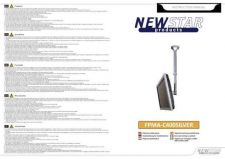 Buy Newstar FPMA C400SILVER Audio Visual Instructions by download #333480