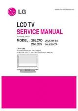 Buy LG 26LC55 Service Manual by download Mauritron #322460