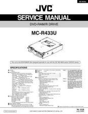 Buy JVC MC-R433U Service Manual by download Mauritron #282785