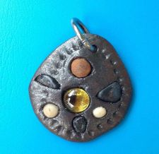 Buy LEGENDARY METAL MYSTICAL PSYCHIC EHEEUAHE LEK-LAI PENDANT YELLOW NAGA EYE BALL