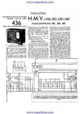 Buy HMV. 1601. VINTAGE WIRELESS. SERVICE SHEETS. by download Mauritron #325579