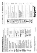 Buy Hotpoint 9469 Washer Operating Guide by download Mauritron #307406