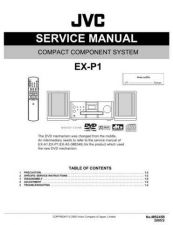 Buy JVC EX-P1-4 Service Manual by download Mauritron #274070