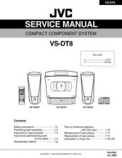 Buy JVC VS-DT8 Service Manual by download Mauritron #284534