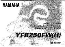 Buy Yamaha 4KD-28199-61 Quad ATV Bike Manual by download #334285