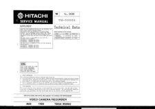 Buy Hitachi TK-2839E Service Manual by download Mauritron #286364