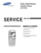 Buy Samsung SGH-N500 Mobile Phone Service Manual by download Mauritron #306394