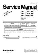 Buy Panasonic KX-TCA115CXW Manual by download Mauritron #299602