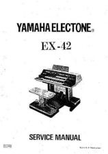 Buy Yamaha EX42 Service Manual by download Mauritron #331112