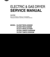 Buy LG DLG5988B Manual by download Mauritron #312528