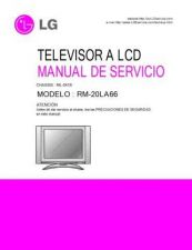 Buy LG 38289S0043F_RM-20LA66 Manual by download Mauritron #303738