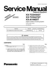 Buy Panasonic KX-TCD440SLT Manual by download Mauritron #300203