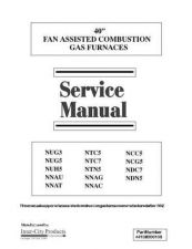Buy Heil NNAG Gas Furnace Service Manual by download Mauritron #328529