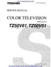Buy Toshiba TZ Series Service Manual by download Mauritron #328983