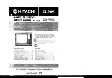 Buy Hitachi CT979-1 Service Manual by download Mauritron #289739