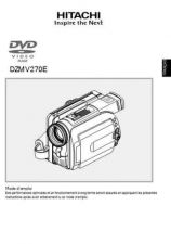 Buy Hitachi DZMV380E_ES Service Manual by download Mauritron #290051