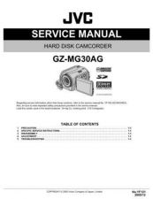 Buy JVC GZ-MG30AG Service Manual by download Mauritron #280979