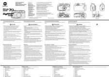Buy Konica FreedomSightseerZoomManual Camera Operating Guide by download Mauritron #32073