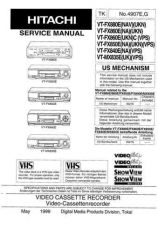Buy Hitachi VT-87A Service Manual by download Mauritron #287101