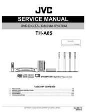 Buy JVC TH-A85-4 Service Manual by download Mauritron #283720
