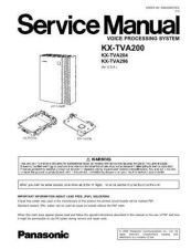 Buy Sharp KX-TVA200 Manual by download Mauritron #298479