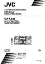 Buy JVC MX-KB25-2 Service Manual by download Mauritron #282949