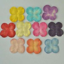 Buy 100 MULBERRY PAPER HYDRANGEA PETAL CRAFT WEDDING SCRAPBOOKING 3.5 cm/ 1.4 INCHES