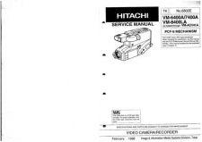 Buy Hitachi VM2600A Service Manual by download Mauritron #286684