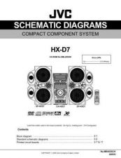 Buy JVC HX-D7-6 Service Manual by download Mauritron #274506