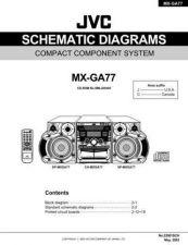 Buy JVC MX-GA77_SCH Service Manual by download Mauritron #277917