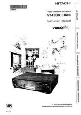 Buy Hitachi VTFX610A Service Manual by download Mauritron #287262