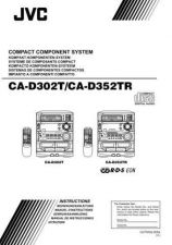 Buy JVC CA-D302 D352 Service Manual by download Mauritron #281346