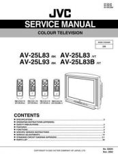 Buy JVC AV-25L83-1 Service Manual by download Mauritron #279720