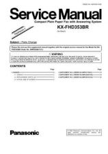 Buy Sharp KX-FHD353-4 Manual by download Mauritron #298403