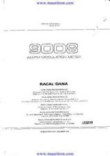 Buy Racal 9008 Manual by download Mauritron #325446