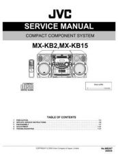 Buy JVC MX-KB2 Service Manual by download Mauritron #282947