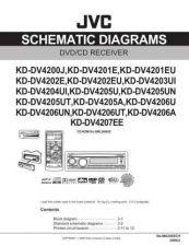 Buy JVC KD-DV4200J sch Service Manual by download Mauritron #281801
