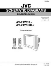 Buy JVC AV-21W33 SCHEM Service Manual by download Mauritron #278880