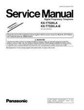 Buy Sharp KX-T7520LA-B Manual by download Mauritron #298450