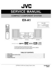Buy JVC EX-A1-4 Service Manual by download Mauritron #273997