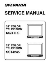 Buy Emerson 6424TFS Service Manual by download Mauritron #330543