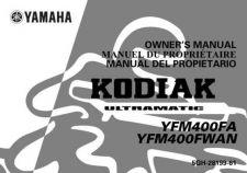 Buy Yamaha 5GH-28199-61 Quad ATV Bike Manual by download #334404