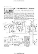 Buy KOLSTER BRANDES QV70 Vintage Servicing Information by download Mauritron #328616