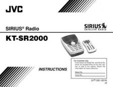 Buy JVC KT-SR2000-1 Service Manual by download Mauritron #282550