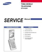Buy Samsung STH-A225 Mobile Phone Service Manual by download Mauritron #306506