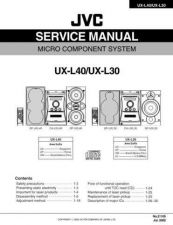 Buy JVC UX-J60 Service Manual by download Mauritron #278333