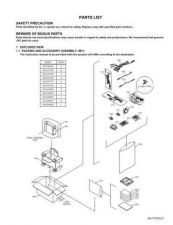 Buy JVC GR-DX77-97PARTS Service Manual by download Mauritron #280789