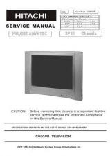 Buy Hitachi 3P31 CHASSIS Service Manual by download Mauritron #287892
